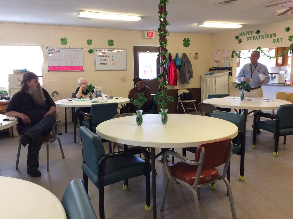 Talk at Marbury Senior Center