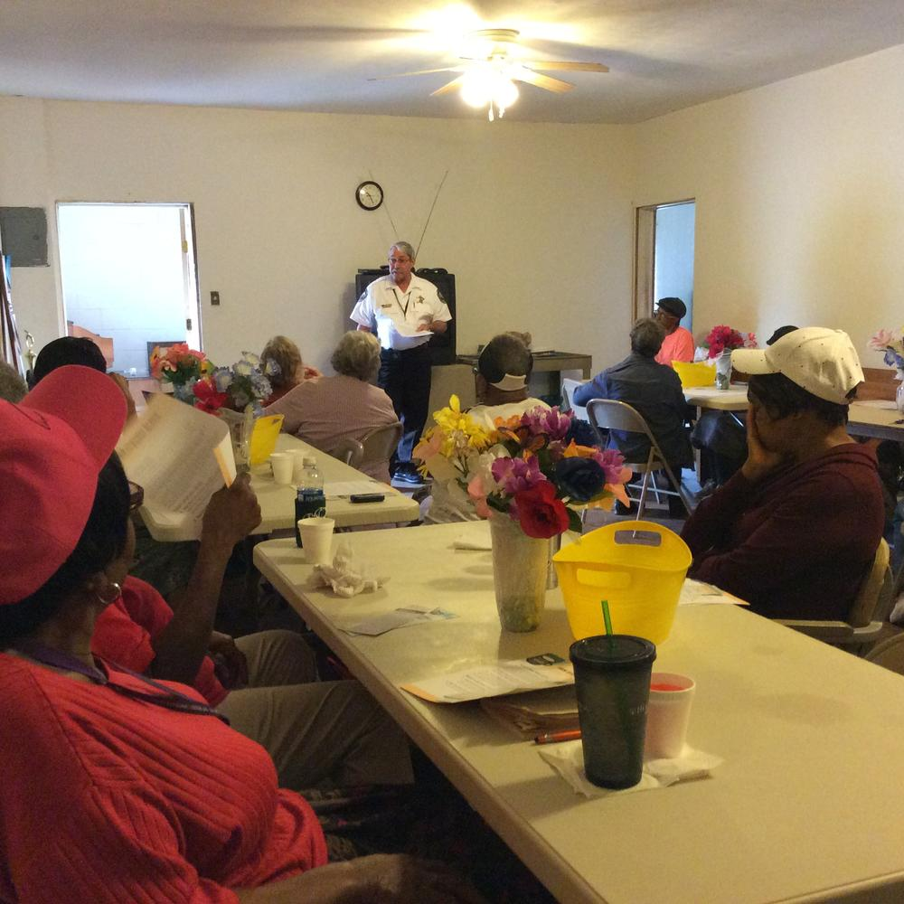 Talk at Mt. Sinai Senior Center