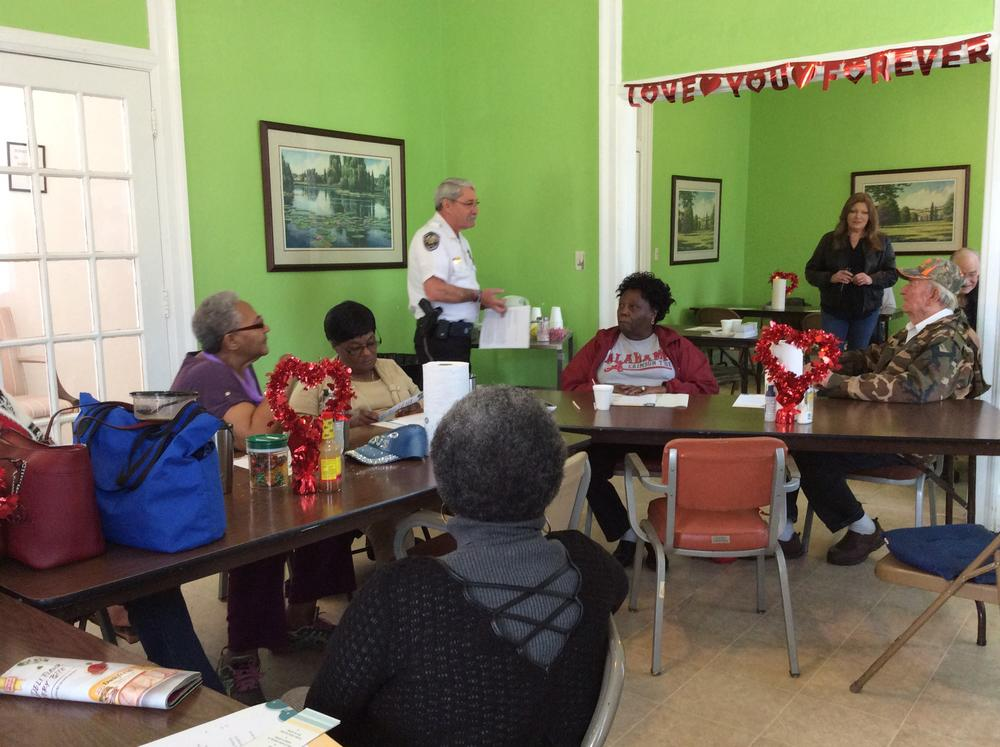 Talk at Autaugaville Senior Center