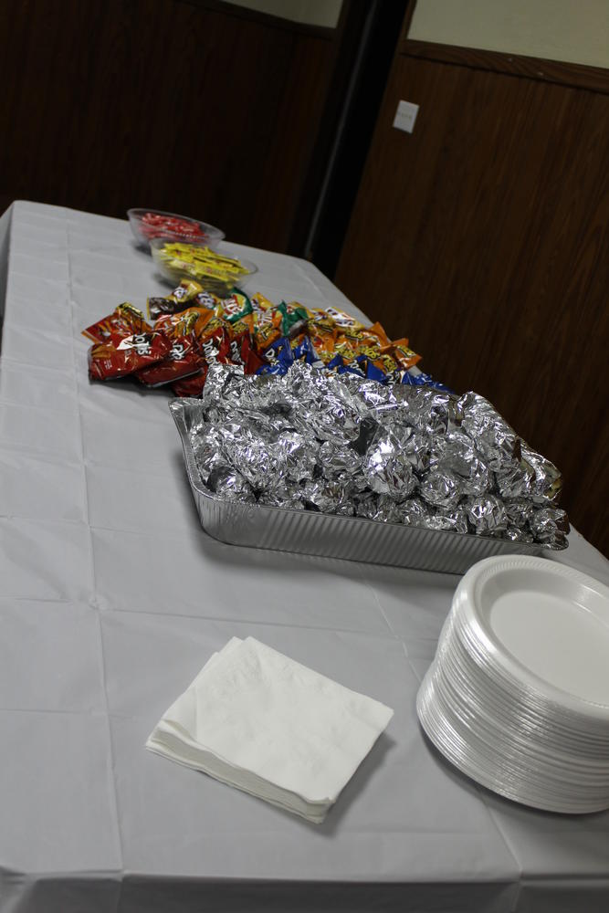 Food at Billingsley Town Hall Meeting