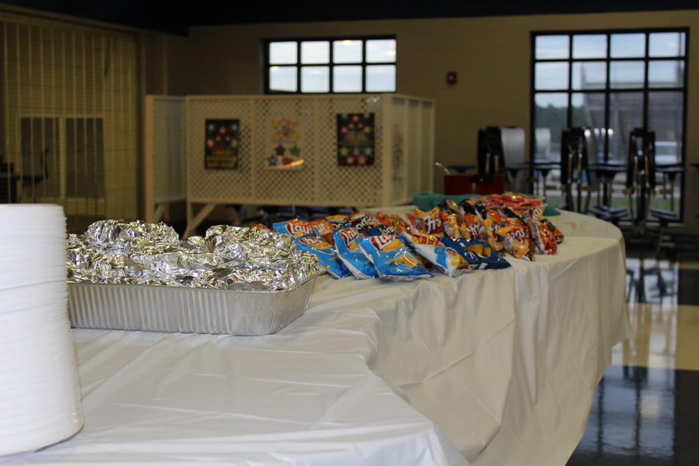 Food at the Marbury Town Hall Meeting