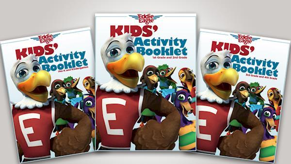 Eddie Eagle Kids Activity Booklet