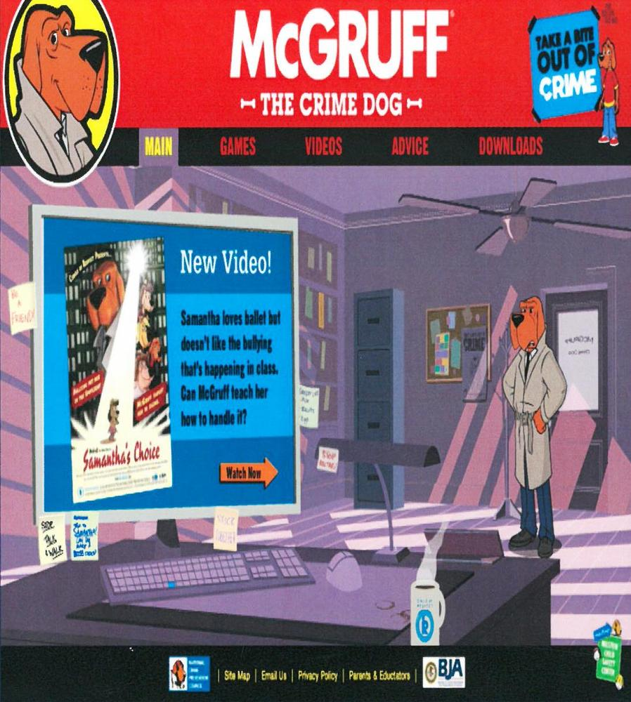 McGruff the Crime Dog Website