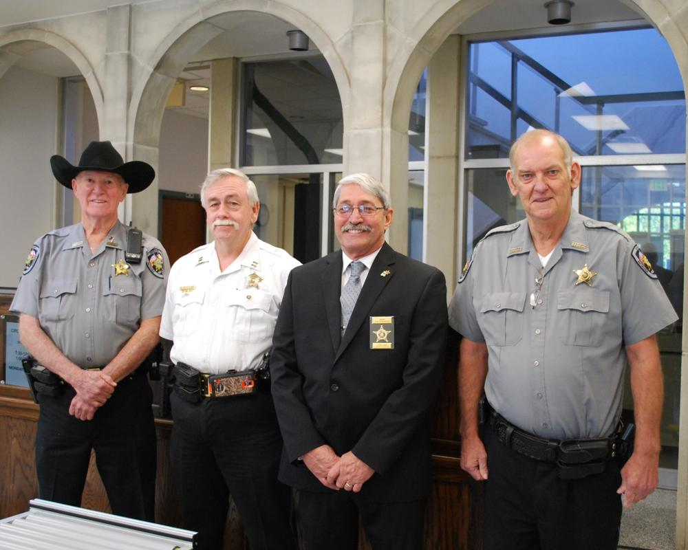 Courthouse Security Officers with Sheriff Sedinger